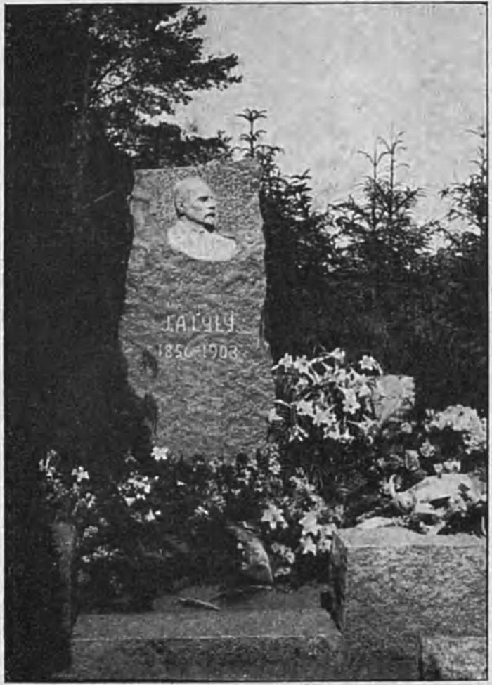 Tohtori Julius Lylyn Hauta Graniittinen Muistomerkki